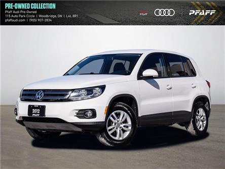 2012 Volkswagen Tiguan 2.0 TSI Trendline (Stk: T19112A) in Woodbridge - Image 1 of 18
