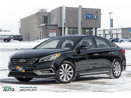 2015 Hyundai Sonata Sport Tech (Stk: 254427) in Milton - Image 1 of 24