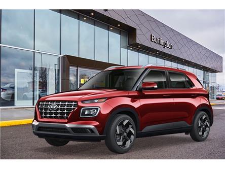 2021 Hyundai Venue Preferred w/Two-Tone (Stk: N2824) in Burlington - Image 1 of 3