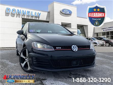 2015 Volkswagen Golf GTI  (Stk: CLDT1400A) in Ottawa - Image 1 of 26