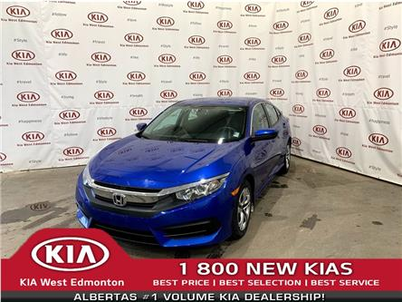 2016 Honda Civic LX (Stk: 22701A) in Edmonton - Image 1 of 19