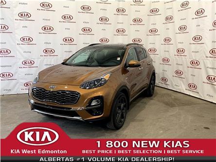 2021 Kia Sportage EX Premium S (Stk: 22812) in Edmonton - Image 1 of 28