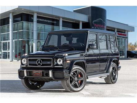 2018 Mercedes-Benz AMG G 63 Base (Stk: 21HMS137) in Mississauga - Image 1 of 34
