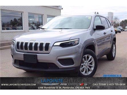 2020 Jeep Cherokee Sport (Stk: 20110) in Pembroke - Image 1 of 26
