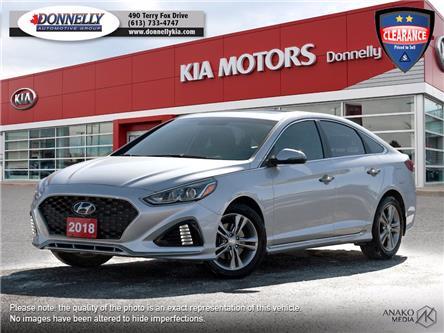 2018 Hyundai Sonata Sport (Stk: KU2462A) in Kanata - Image 1 of 28