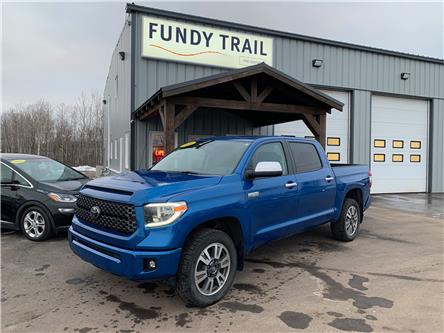 2018 Toyota Tundra Platinum 5.7L V8 (Stk: 1897a) in Sussex - Image 1 of 11