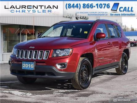 2016 Jeep Compass Sport/North (Stk: 21056B) in Sudbury - Image 1 of 25
