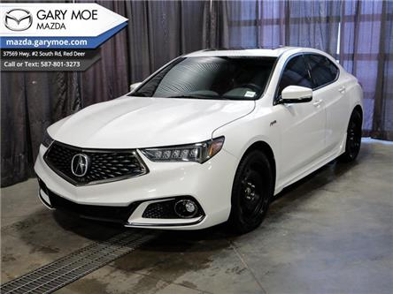 2019 Acura TLX SH-AWD Tech A-Spec w/Red Leather (Stk: MP9972A) in Red Deer - Image 1 of 25