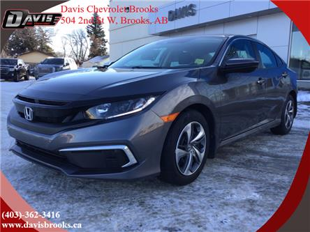 2019 Honda Civic LX (Stk: 211723) in Brooks - Image 1 of 15
