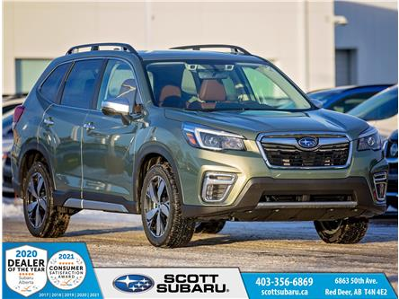 2021 Subaru Forester Premier (Stk: 451636) in Red Deer - Image 1 of 21