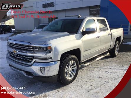 2018 Chevrolet Silverado 1500 1LZ (Stk: 193942) in Brooks - Image 1 of 16