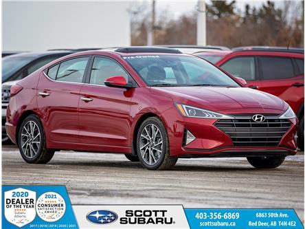 2019 Hyundai Elantra Luxury (Stk: 71581U) in Red Deer - Image 1 of 13