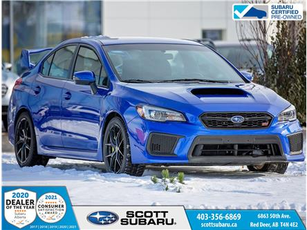 2019 Subaru WRX STI Sport (Stk: 01467U) in Red Deer - Image 1 of 18