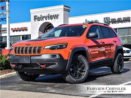 2021 Jeep Cherokee Trailhawk (Stk: MD20) in Burlington - Image 1 of 28