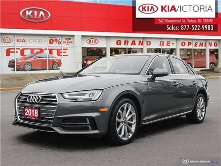 2018 Audi A4 2.0T Progressiv (Stk: A1772) in Victoria - Image 1 of 24