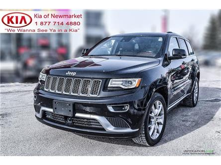 2016 Jeep Grand Cherokee Summit (Stk: P1353) in Newmarket - Image 1 of 22