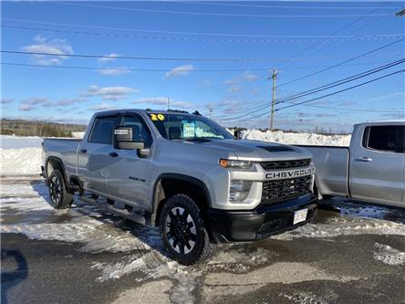 2020 Chevrolet Silverado 2500HD Custom (Stk: 21078A) in St. Stephen - Image 1 of 8