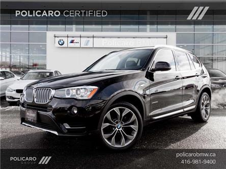 2017 BMW X3 xDrive28i (Stk: T14782P) in Brampton - Image 1 of 21