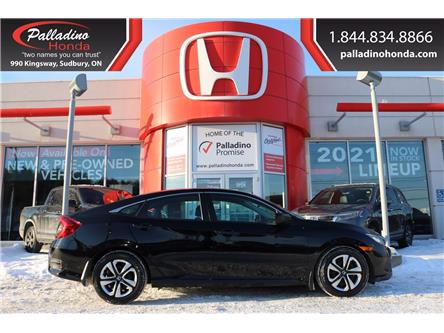 2017 Honda Civic LX (Stk: U9897) in Sudbury - Image 1 of 31