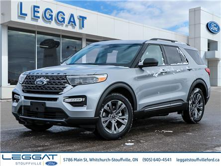 2021 Ford Explorer XLT (Stk: EX19308) in Stouffville - Image 1 of 29