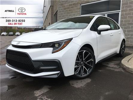 2021 Toyota Corolla SE UPGRADE (Stk: 49009) in Brampton - Image 1 of 28