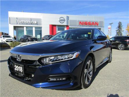 2018 Honda Accord EX-L (Stk: K576A) in Timmins - Image 1 of 15