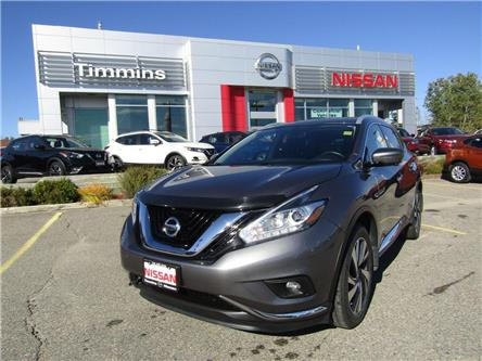 2018 Nissan Murano  (Stk: L161A) in Timmins - Image 1 of 15