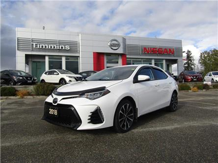2018 Toyota Corolla  (Stk: L300A) in Timmins - Image 1 of 16