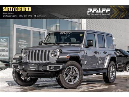 2019 Jeep Wrangler Unlimited Sahara (Stk: LC9791) in Guelph - Image 1 of 21