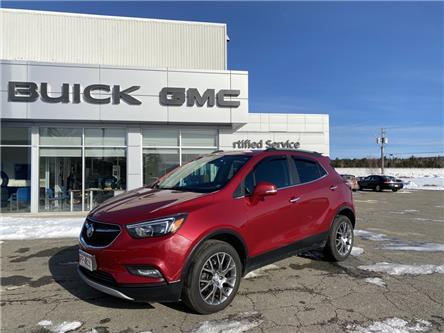 2017 Buick Encore Sport Touring (Stk: 20221A) in St. Stephen - Image 1 of 5