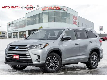 2018 Toyota Highlander Hybrid XLE (Stk: U6006A) in Barrie - Image 1 of 22