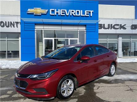 2017 Chevrolet Cruze LT Auto (Stk: 21085A) in St. Stephen - Image 1 of 8