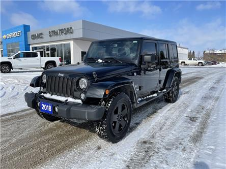 2018 Jeep Wrangler JK Unlimited Sahara (Stk: TC2805A) in Stratford - Image 1 of 4