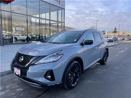 2021 Nissan Murano Midnight Edition (Stk: T21044) in Kamloops - Image 1 of 26