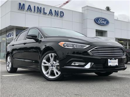 2018 Ford Fusion Titanium (Stk: 20FU2006A) in Vancouver - Image 1 of 30