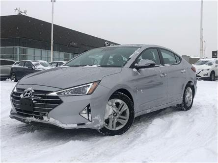 2020 Hyundai Elantra Preferred w/Sun & Safety Package (Stk: 4408) in Brampton - Image 1 of 25