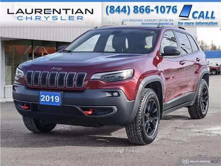 2019 Jeep Cherokee Trailhawk (Stk: 20451A) in Sudbury - Image 1 of 29