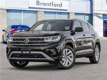 2021 Volkswagen Atlas Cross Sport 3.6 FSI Highline (Stk: AS21713) in Brantford - Image 1 of 23