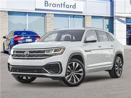 2021 Volkswagen Atlas Cross Sport 3.6 FSI Execline (Stk: AS21444) in Brantford - Image 1 of 10