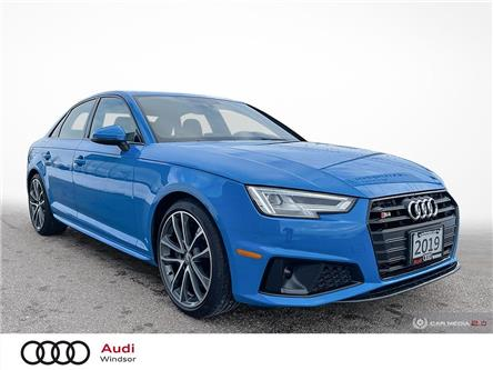 2019 Audi S4 3.0T Progressiv (Stk: 20600) in Windsor - Image 1 of 30