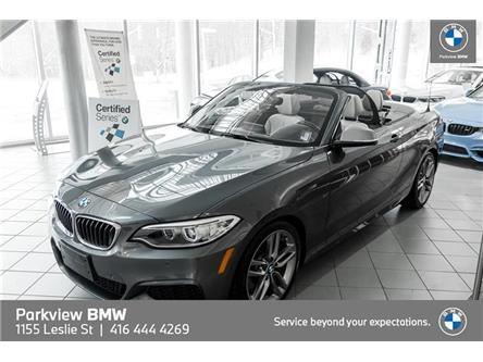 2017 BMW M240i xDrive (Stk: PP9653) in Toronto - Image 1 of 22