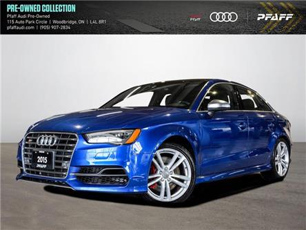 2015 Audi S3 2.0T Technik (Stk: C8163) in Woodbridge - Image 1 of 22