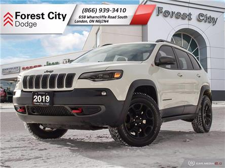 2019 Jeep Cherokee Trailhawk (Stk: 21-5007A) in London - Image 1 of 29