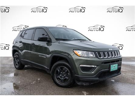 2018 Jeep Compass Sport (Stk: 27812UX) in Barrie - Image 1 of 24