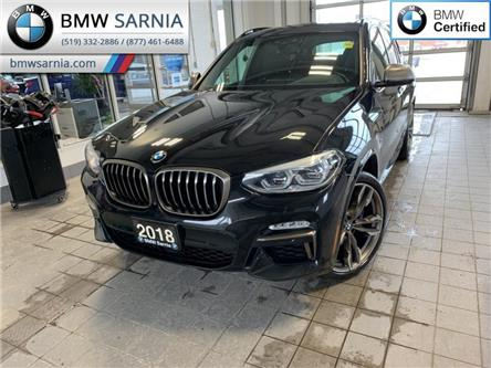 2018 BMW X3 M40i (Stk: XU392) in Sarnia - Image 1 of 10