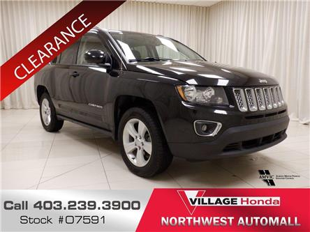 2017 Jeep Compass Sport/North (Stk: O7591) in Calgary - Image 1 of 19