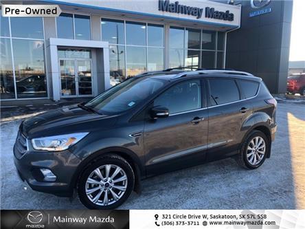 2017 Ford Escape Titanium (Stk: M21082AA) in Saskatoon - Image 1 of 14