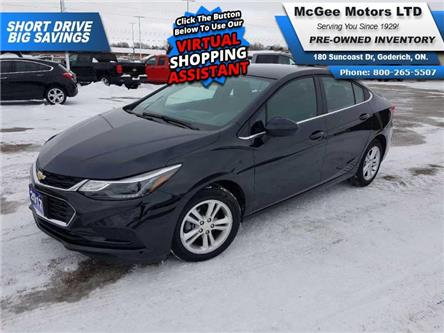 2017 Chevrolet Cruze LT Auto (Stk: 164612) in Goderich - Image 1 of 26