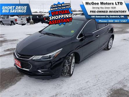 2018 Chevrolet Cruze Premier Auto (Stk: 654092) in Goderich - Image 1 of 28