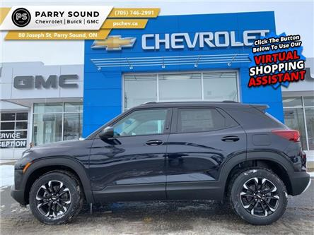 2021 Chevrolet TrailBlazer LT (Stk: 21-104) in Parry Sound - Image 1 of 20